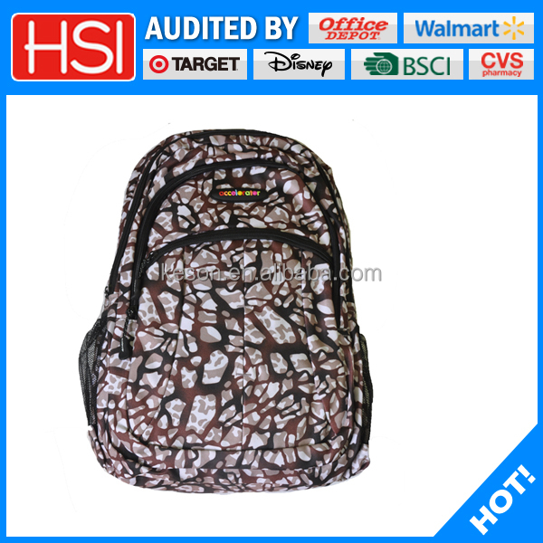 Top quality outdoor customizable impact school bag