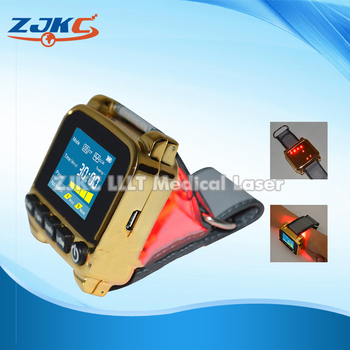 Household portable low intensity laser therapy high blood pressure wrist watch