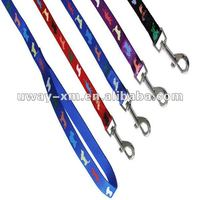 2012 New arrival long pet nylon leash for dogs,buckle style