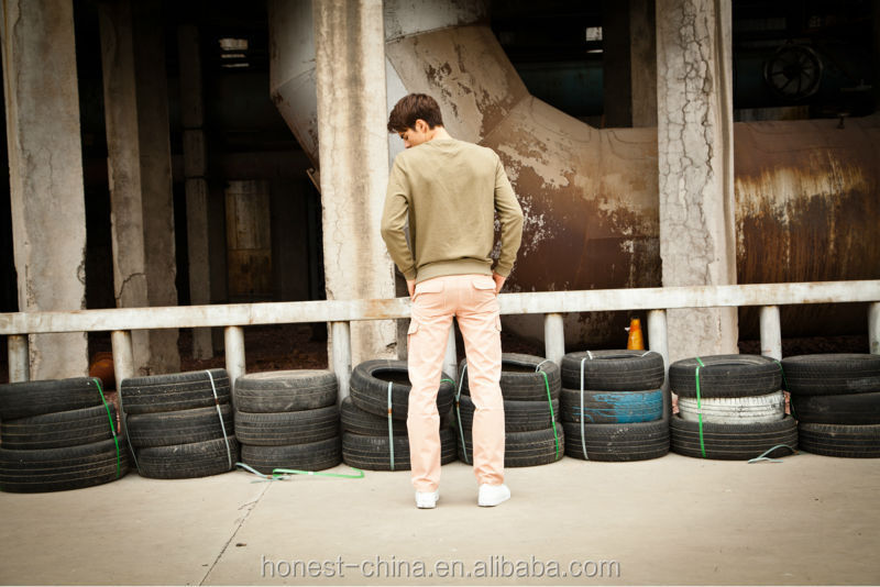 popular design pink mens baggy cargo pants from china supplier