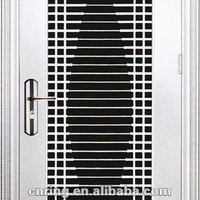 Modern Stainless Steel Security Front Door