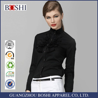 Black Shirt Of Ladies Formal Shirt Designs For Fancy Ladies Tops Latest Design