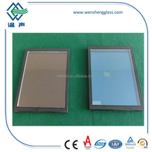Sunshine control coated insulated glass
