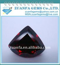 fan-shaped cubic zirconia cz stone