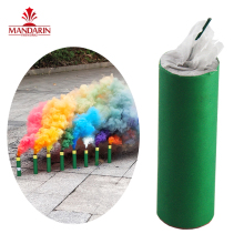 60 seconds cheap price rainbow colorful handheld smoke bomb flare fireworks