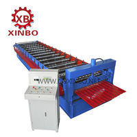 used metal roof panel roll forming machine/building material machinery /portable roll forming machine manual sheet metal cutting