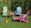 Promotional Outdoor /Patio Furniture Various Color Polywood Adirondack Chair