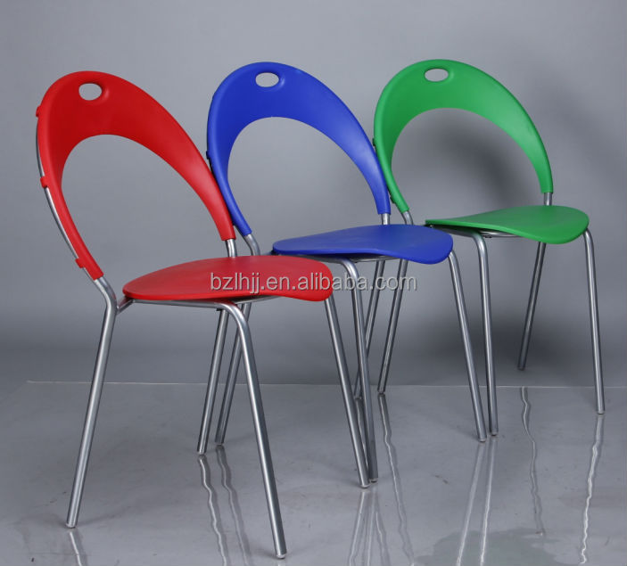 New style bazhou plastic outdoor restaurant chair with good quality cheap price