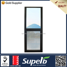 China factory price LOW-E tempered glass aluminium top sliding window