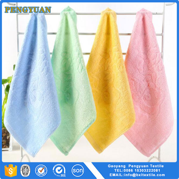 china supplier 100% bamboo baby washcloth