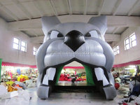 inflatable giant dog tunnel/Funny sport tunnel