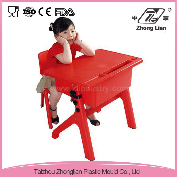 Single size cheap student plastic nursery school desk dimensions