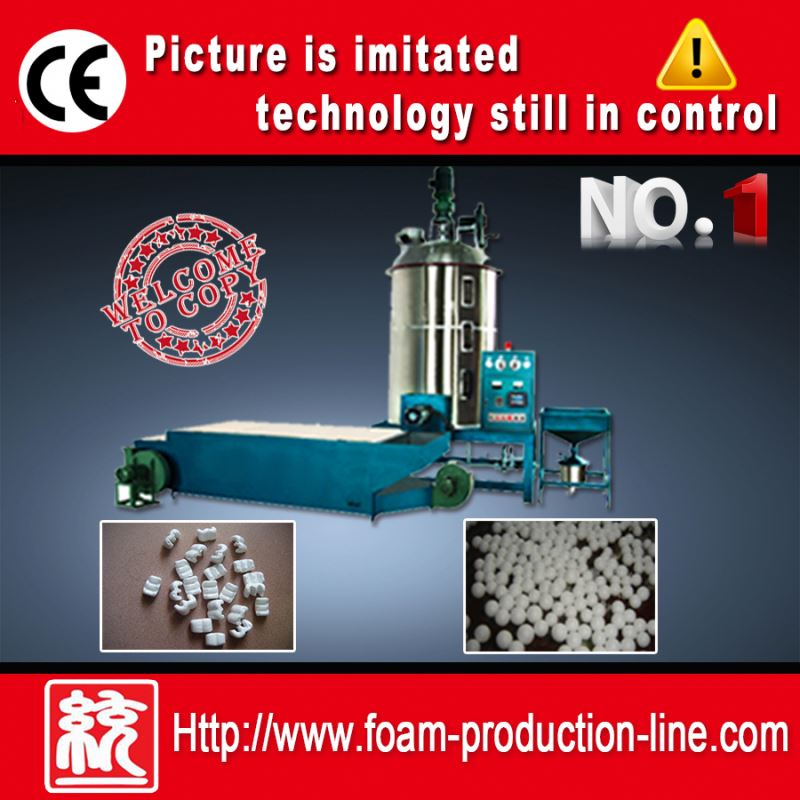Polystyrene Machine foam beads for building