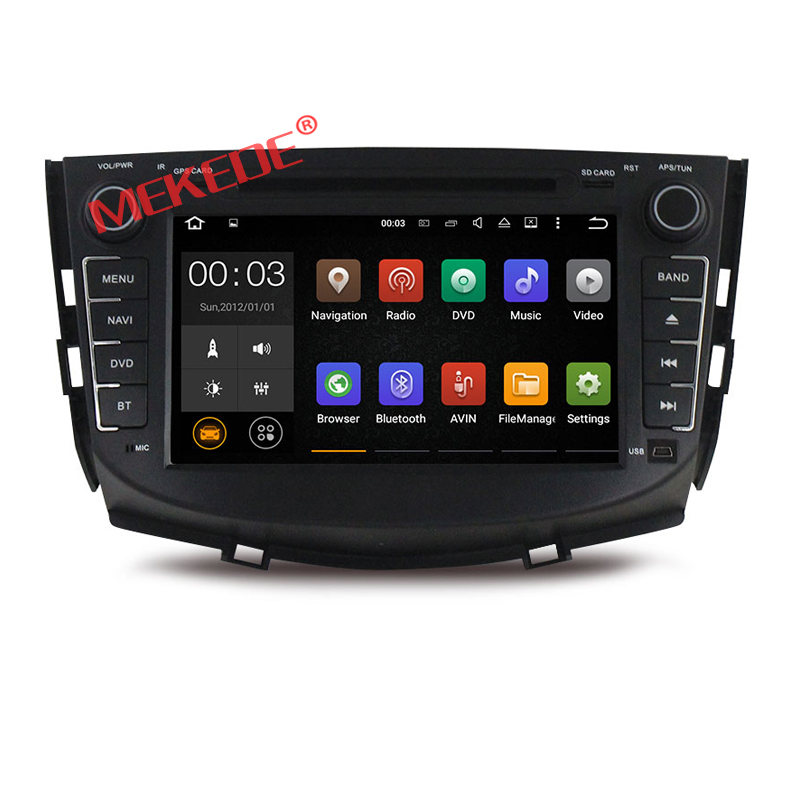 MT3561 Quad Core android 7.1 car radio speical for Lifan X60 support Multi-language