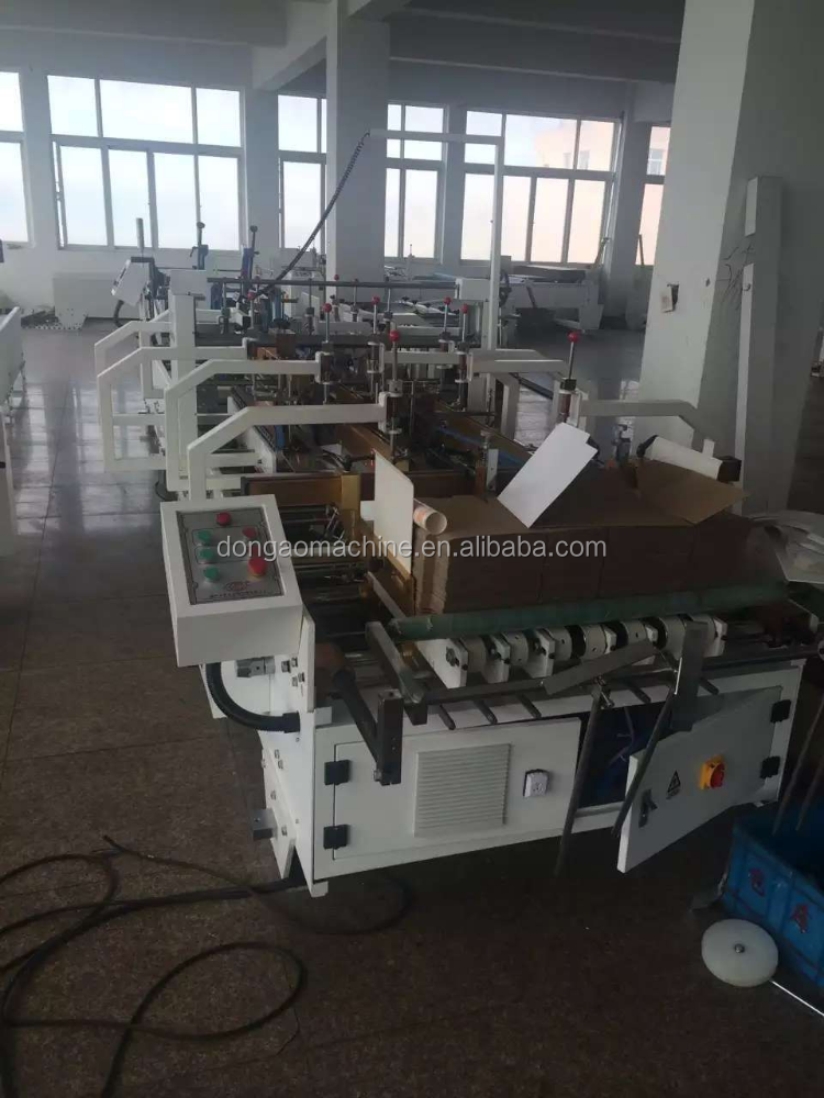 Full automatic Used Crash Lock Bottom Folder Gluer Machine For Sale For Double-Side Gluing Machine