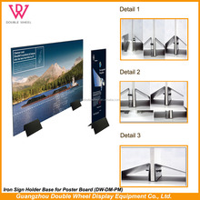 High quality billboard poster, durable advertising poster board,Custom indoor advertising hanging scroll banner