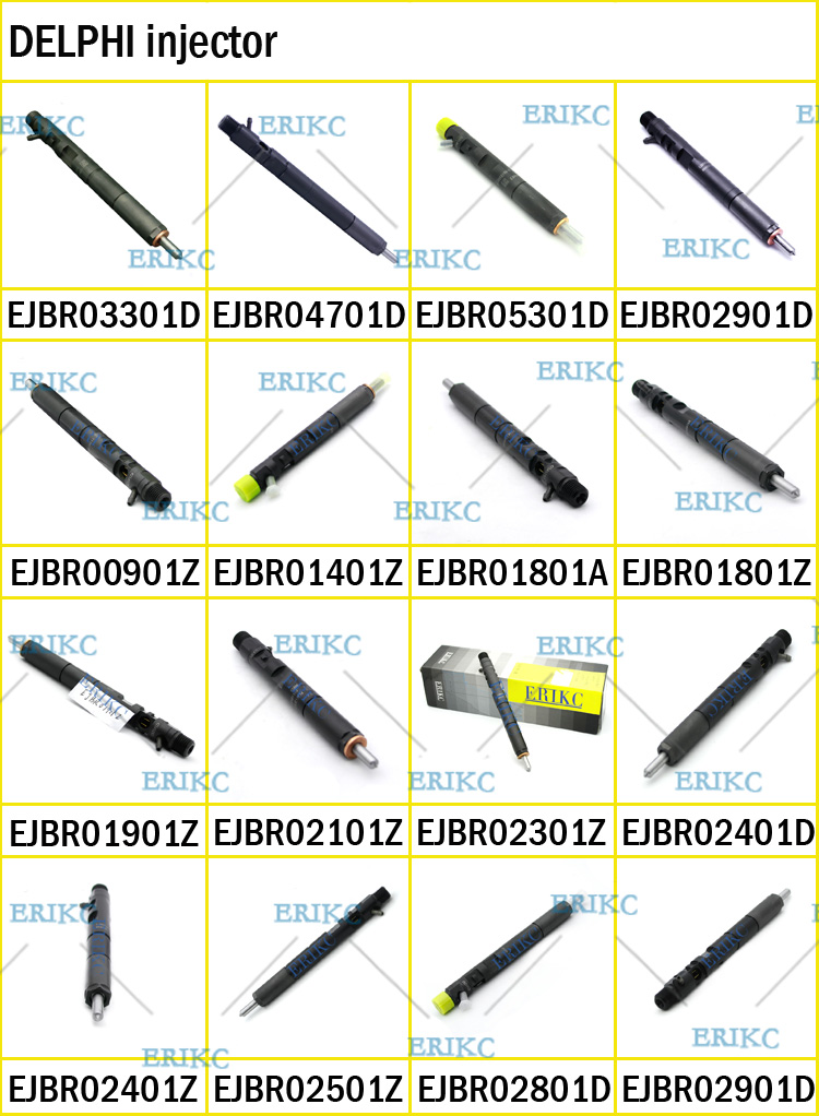 ERIKC EJBR05301D F50001112100011 CR complete injector for YUCHAI