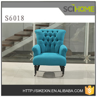 single sofa chair S6018 chair fabric armchair french style armchair sofa