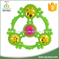colorful plastic baby rattle toy