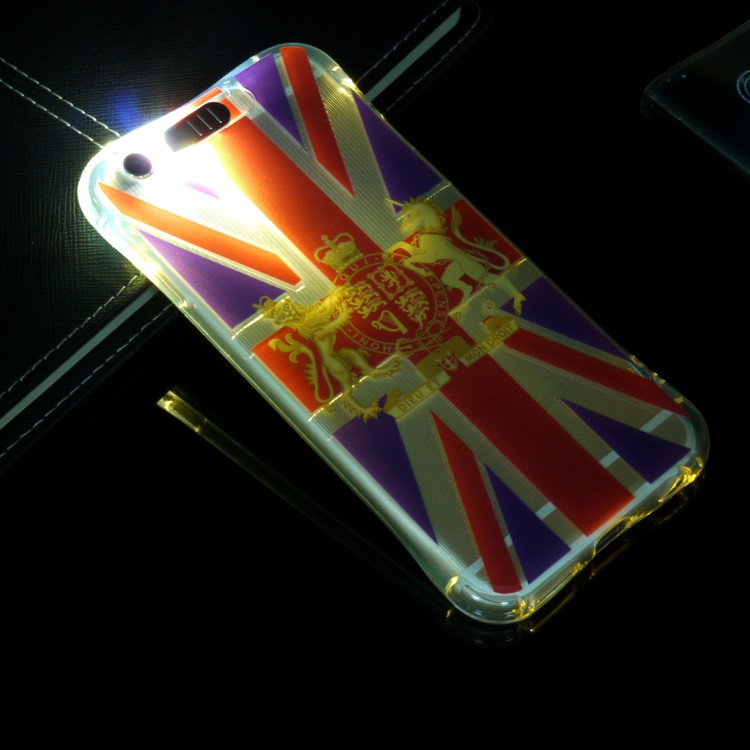 high quality color changing phone case for iphone 5 led phone case
