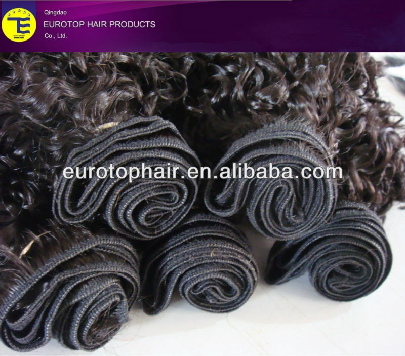 Jerry Curl 20 inch hair weave wholesale factory price human hair