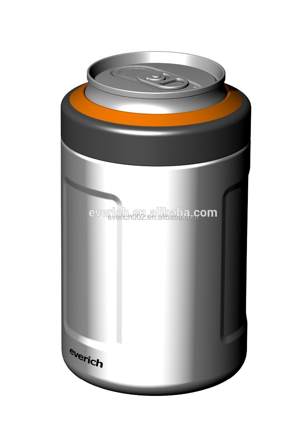Styrofoam Beer Can Cooler ~ Oz double wall insulated beer holder stainless steel can