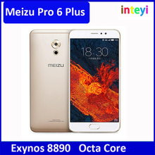 "Newest Meizu Pro6 Plus pro 6 plus 2K 5.7""LTE 4G Exynos 8890 Octa Core 4GB +64GB 2560x1440P 12MP 3D Press 3400mAh"