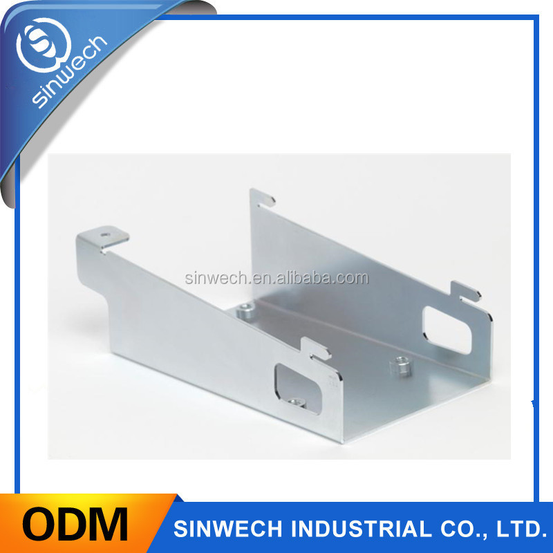 OEM manufacture sheet aluminum metal fabrication parts in China
