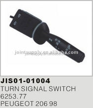 Turn Signal Switch Steering Column Switch for Peugeot 206 6253.77