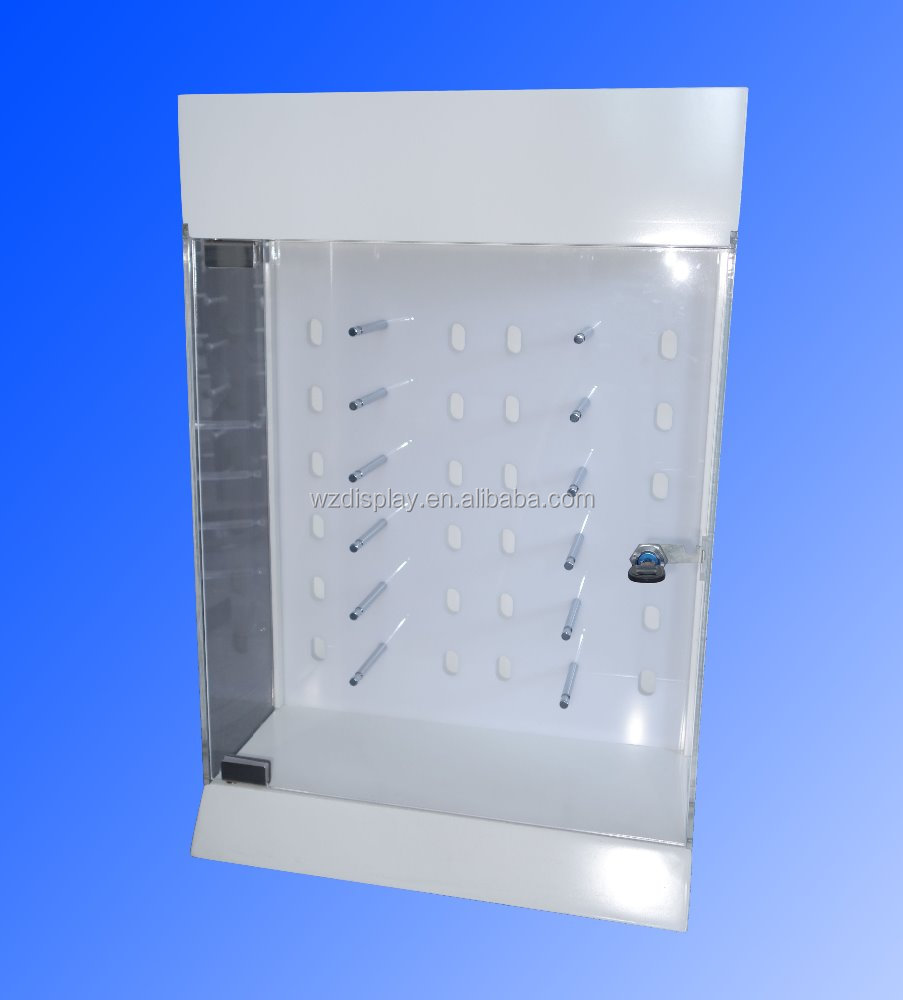 locking sunglasses display case;counter eyeglasses display stand;eyewear display countertop