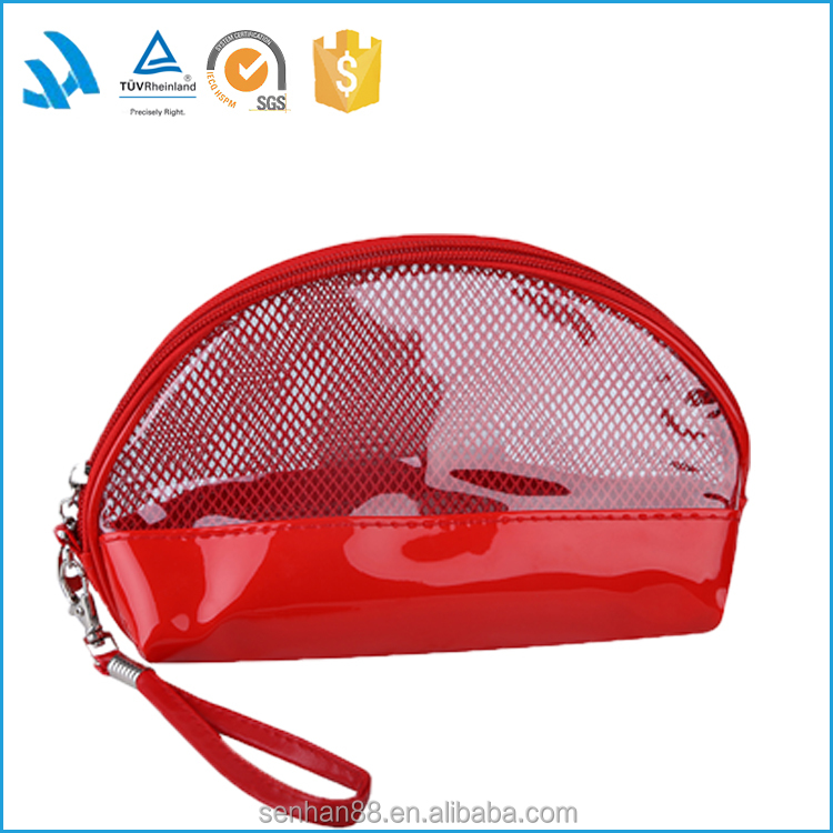 Fashion Cheap Small Mini Cute Clear Pvc Cosmetic Makeup Bag Wholesale