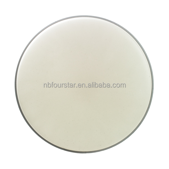 White grit coated drum top head/drum Skin