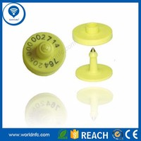 China supplier Cattle Tracking UHF RFID Animal Ear Tag