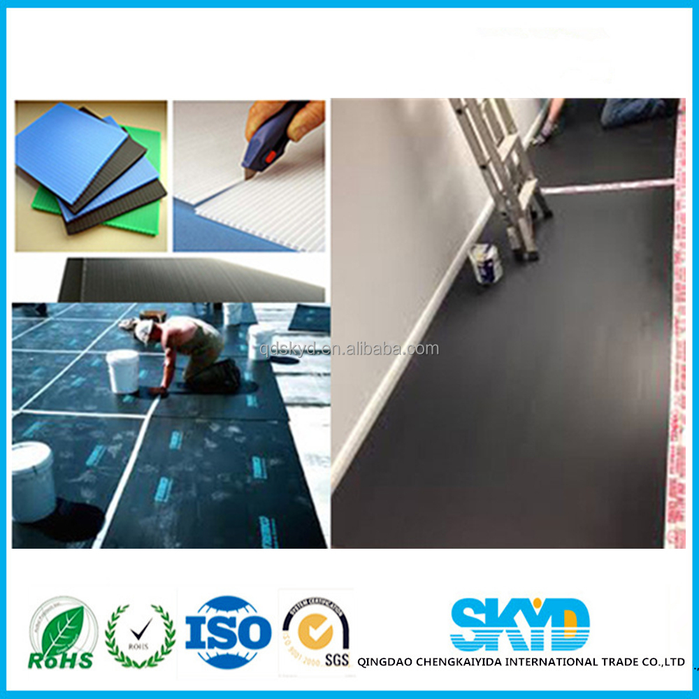 PP Corrugated sheet floor protection plastic sheet