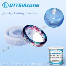 Translucent RTV Silicone Rubber for Artificial Jewelry resin Casting Application