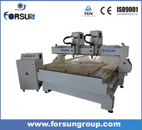 wood carving machine multi spindles cnc router machine