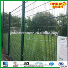 Double coated double wire fence powder coated wire mesh fencing for field use and for dog kenne