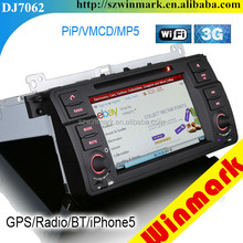 "Winmark DJ7062 7"" Special Car DVD Player GPS Autoradio 3 Series E46 2000"