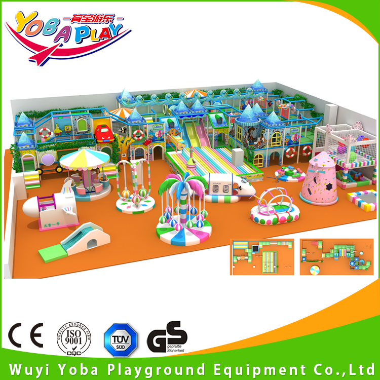Factory supplier naughty fort electric indoor playground equipment