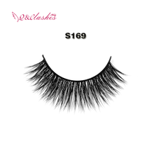 New Premium Custom Eyelash Packaging 3D Faux Mink Lashes for Wholesale