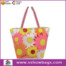 fashion 2013 summer beach bag striped canvas beach bag 2012