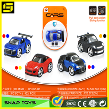 Diecast NEW model hot Pullback cars blister by 1 car, Hi quality metal car, best children gift
