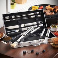 BBQ GRILL TOOL SET/BBQ SET with case