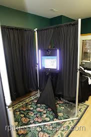 RP photo booth Pipe and Drape system WDH: 10ft*10ft*6ft