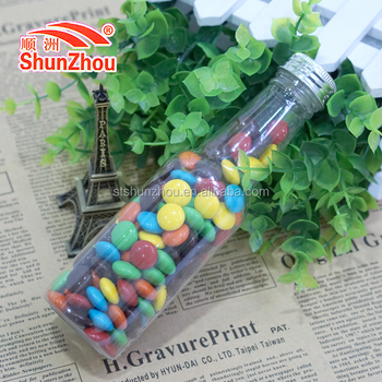145g beer bottle fastener shape colorfulr coated sweet big crispy chocolate beans