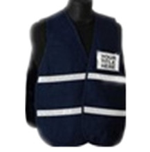 black purple canvas safety vest class 2 reflective Incident Command Vests with pocket 60/40 Poly-Cotton fabric orange lime