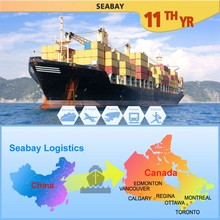 CAS01A China Shipping Service To Canada, China To Canada Sea Shipping Container Freight Forwarder