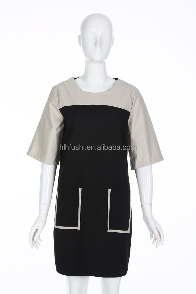 Wholesale pockets design women clothing for short dress On summer