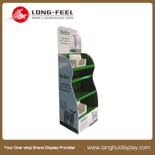 cardboard display, case, showcase, made of cardboard, greeting card display stands counter top