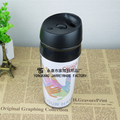 AS Material and Stocked,Eco-Friendly Feature plastic travel mug with paper insert diy